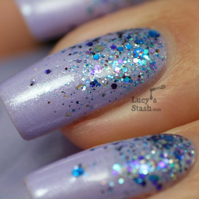 Lucy's Stash - Glitter gradient