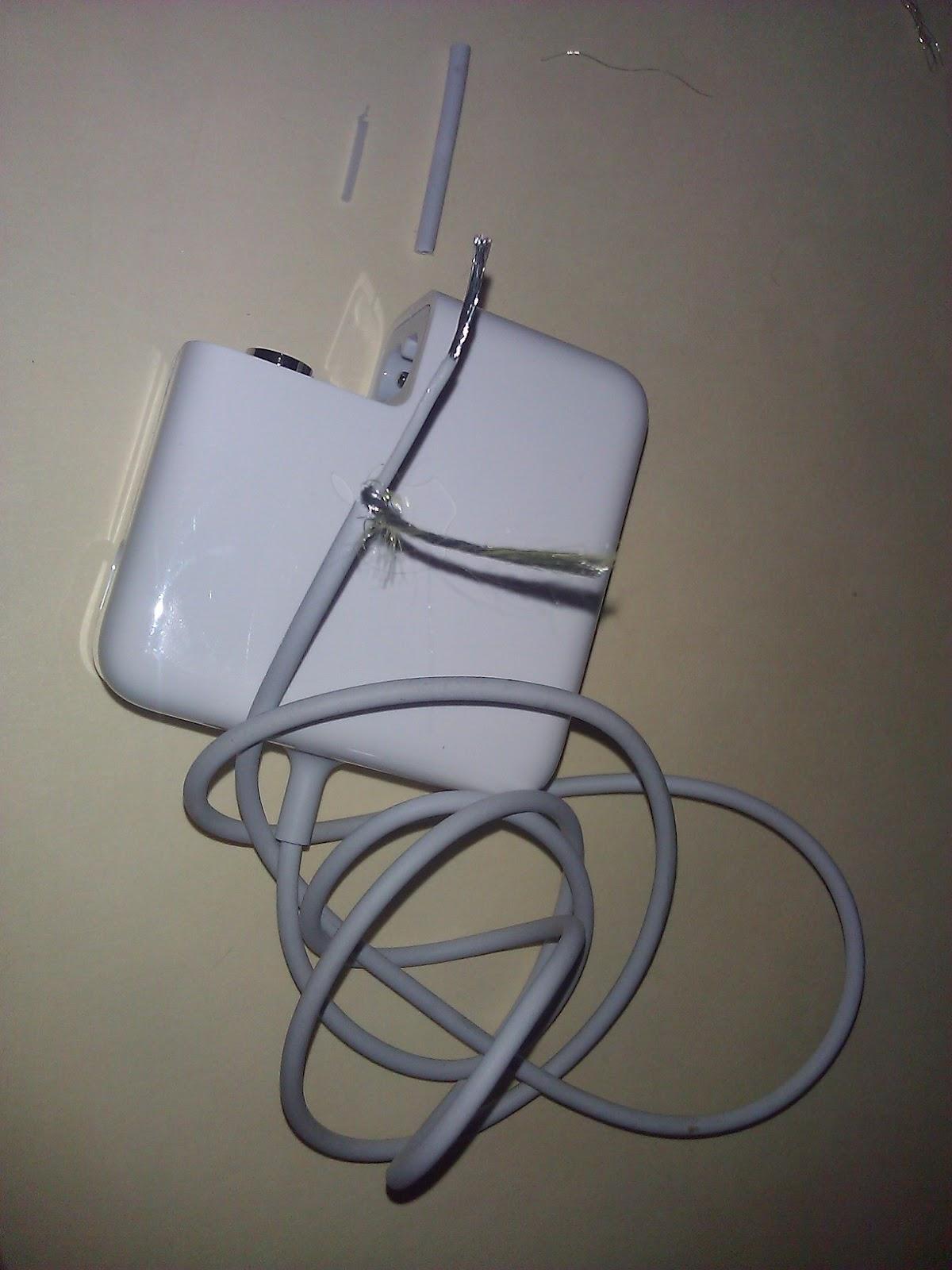 Cat Chewed MacBook Power Cord: Do Not Throw Your Chewed Up MacBook ...