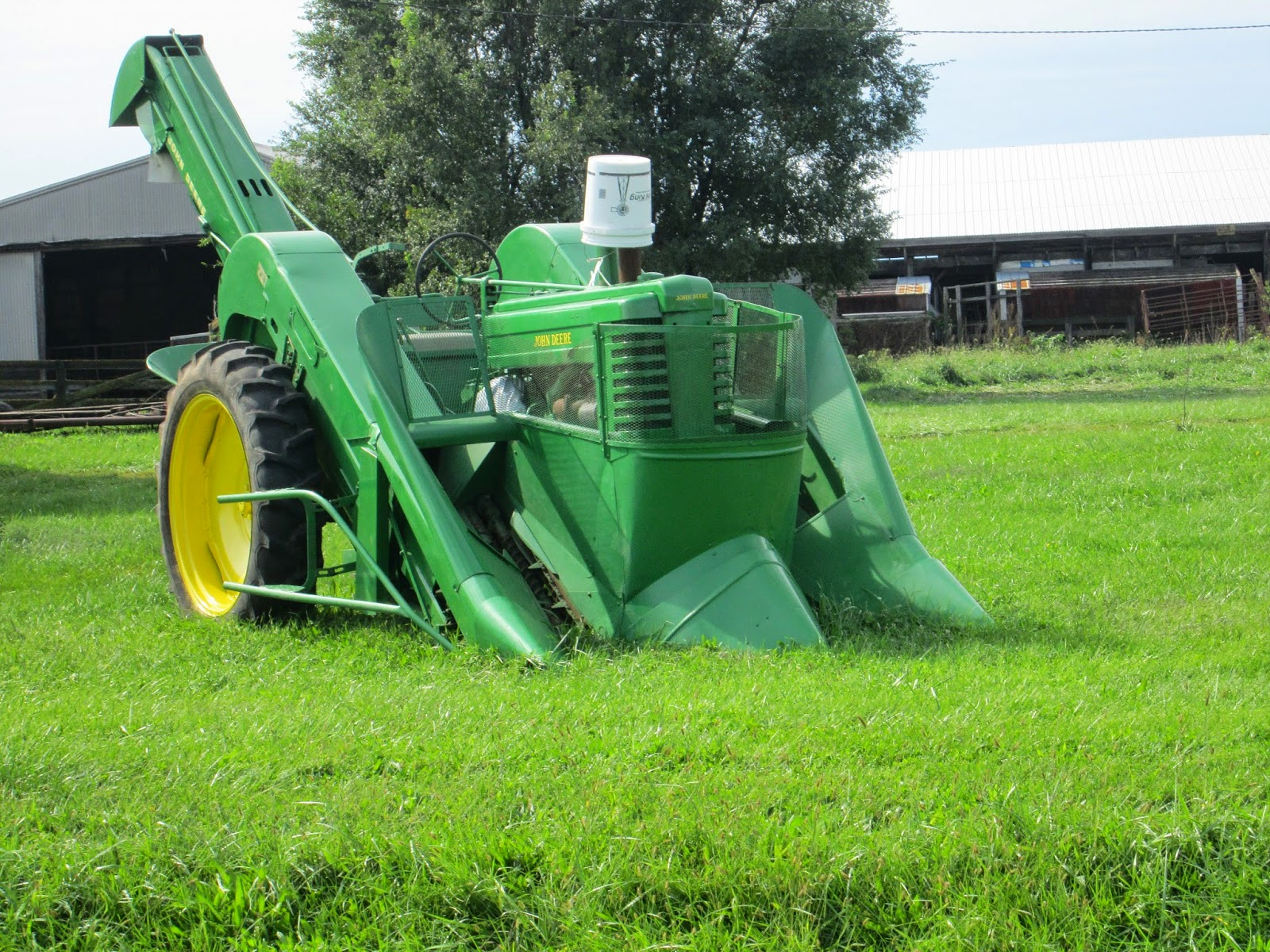 Observations In Agriculture  John Deere Mounted Corn Picker