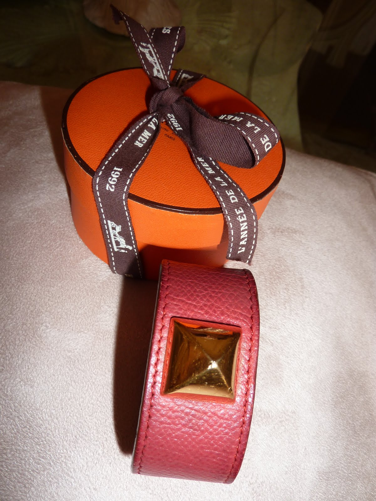 Le chic et grand vide dressing bracelet herm s medor en for Graine d interieur paris