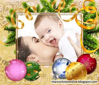 marco fotos de navidad