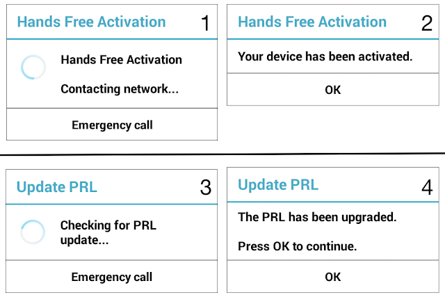 LG Volt Hands Free Activation