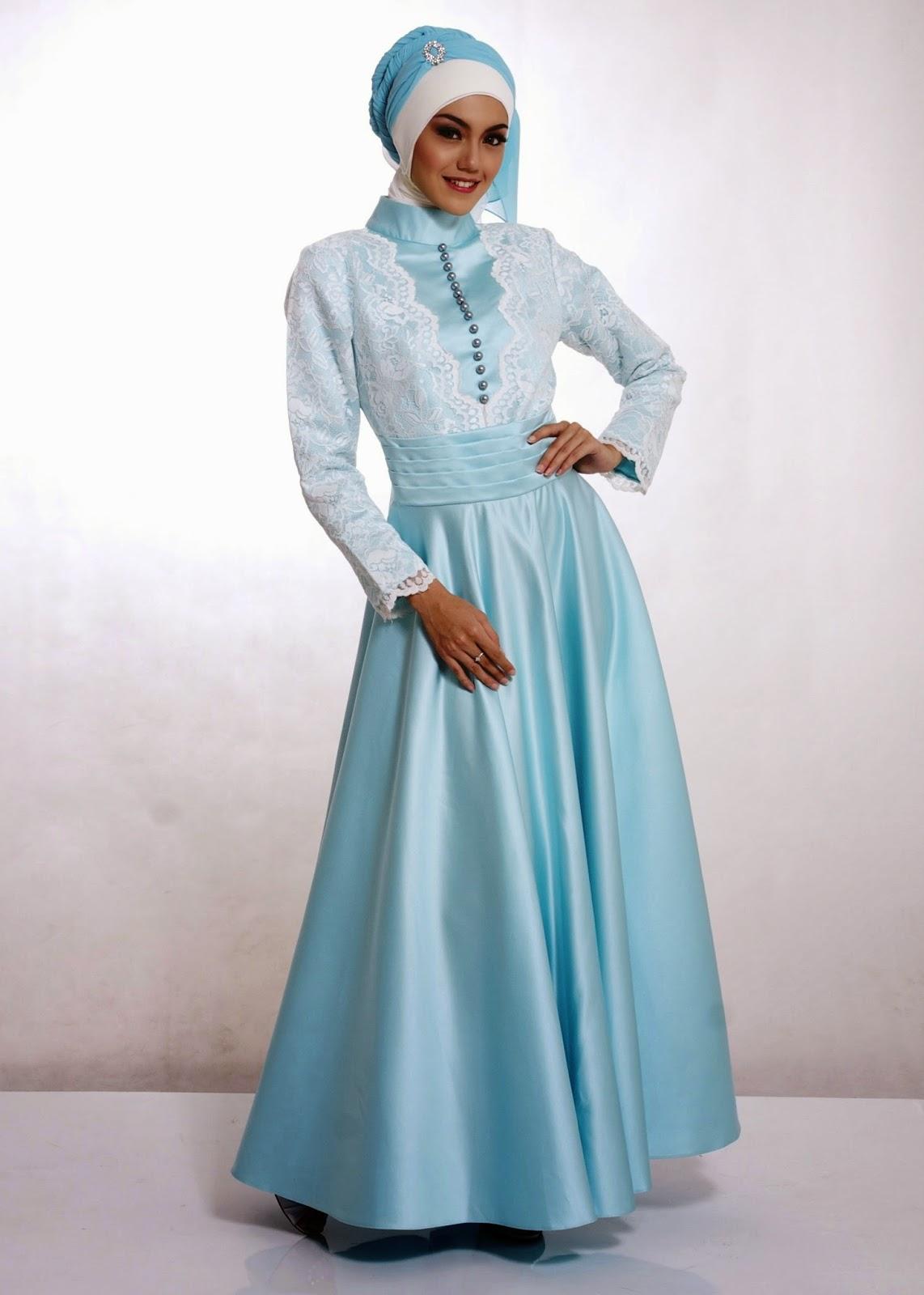 Model Baju Muslim Trendy Bahan Sifon Terbaru