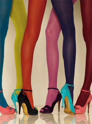 colorful stockings