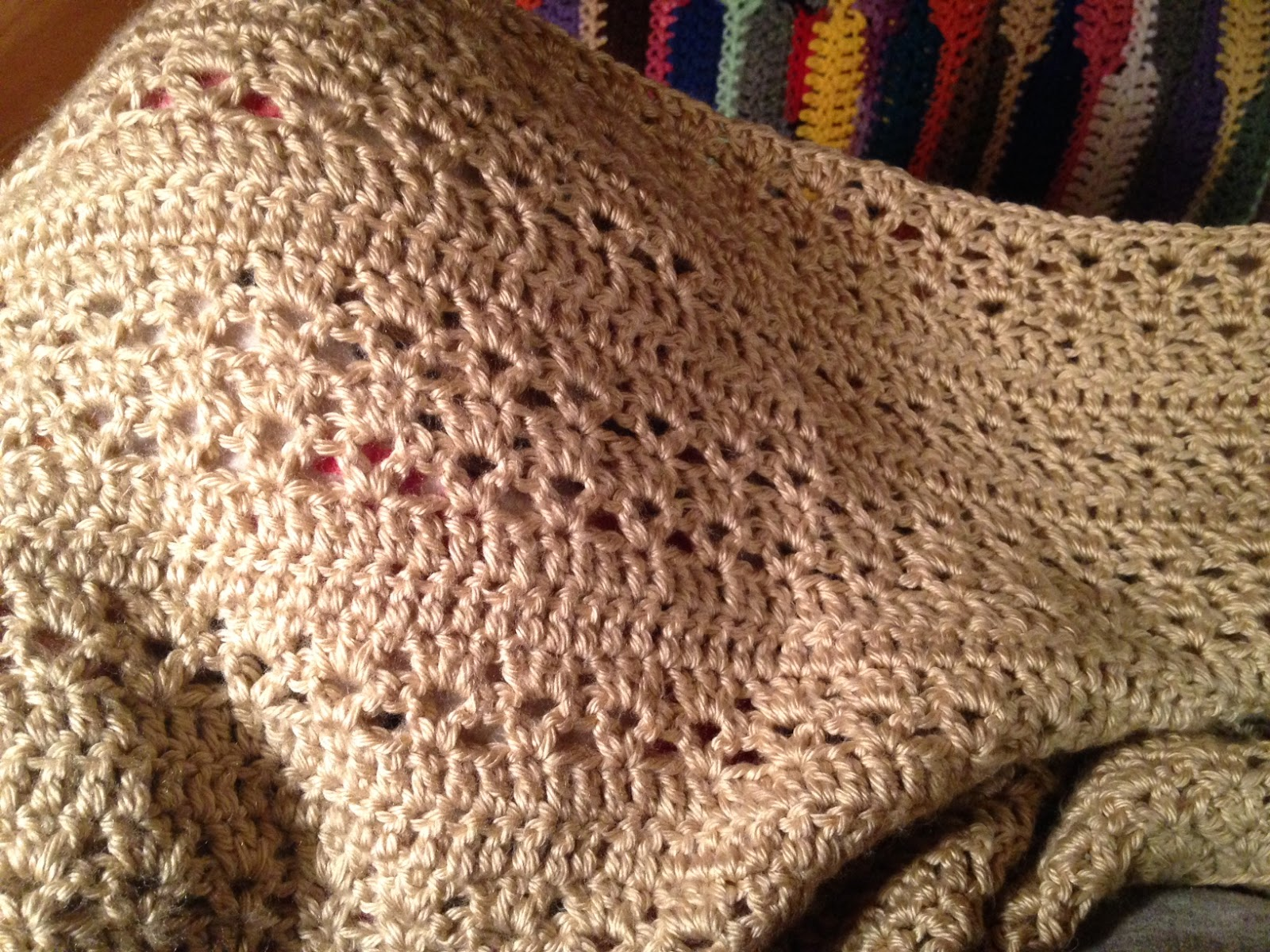 Amy\'s Passions: Country Cozy afghan progress [Crochet]