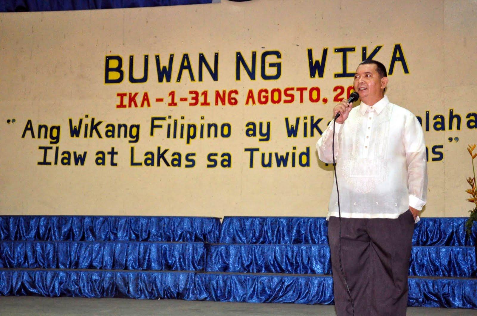 Pambansang Wika: Filipino