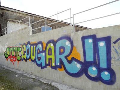 graffiti grute cougar