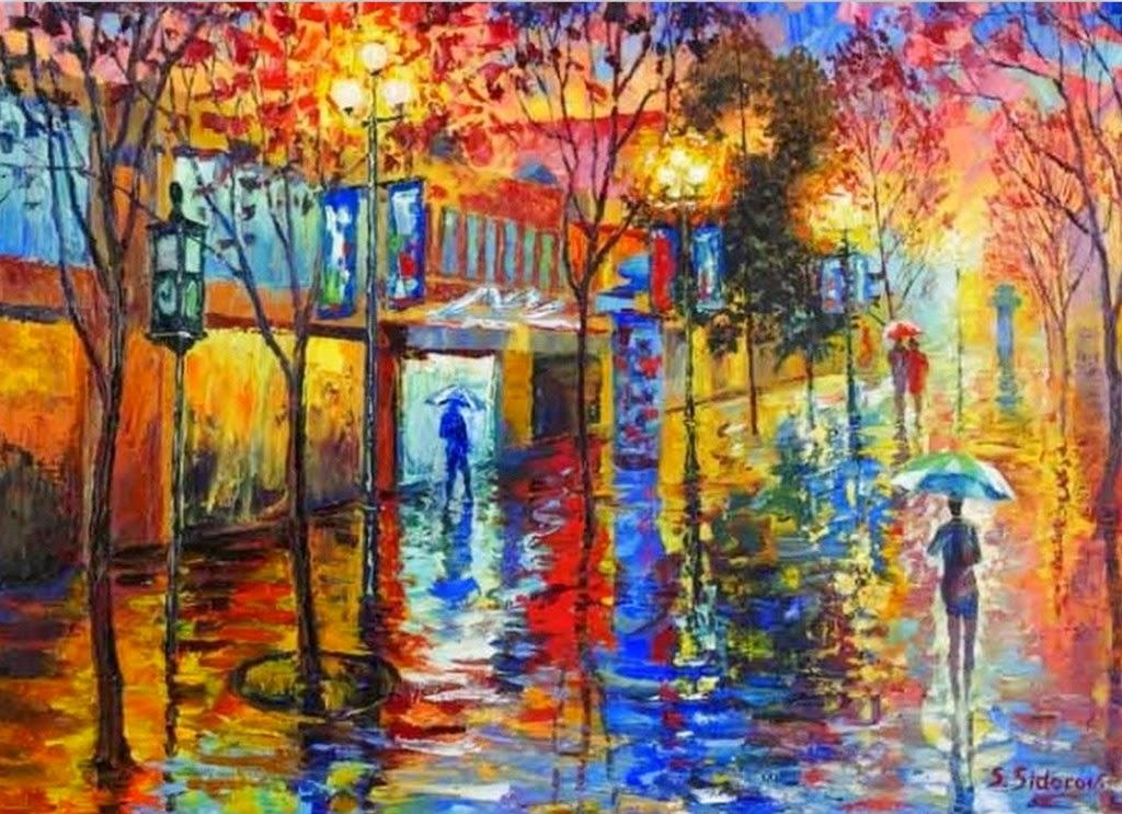 Cuadros modernos pinturas y dibujos sensacionales - Cuadros pintados con spray ...