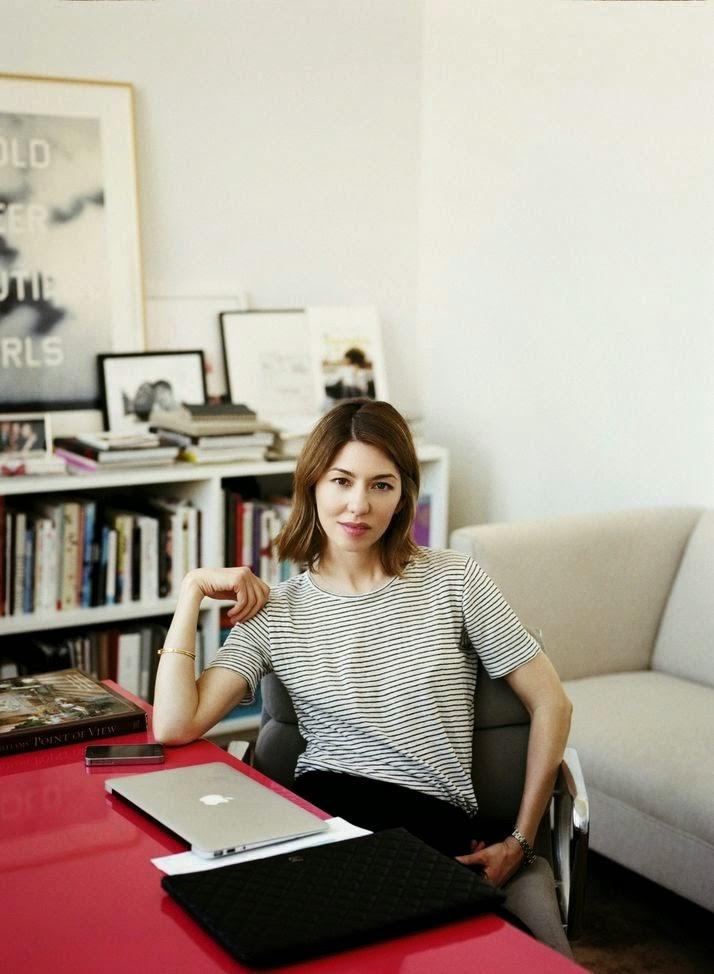 O escritório de Sofia Coppola
