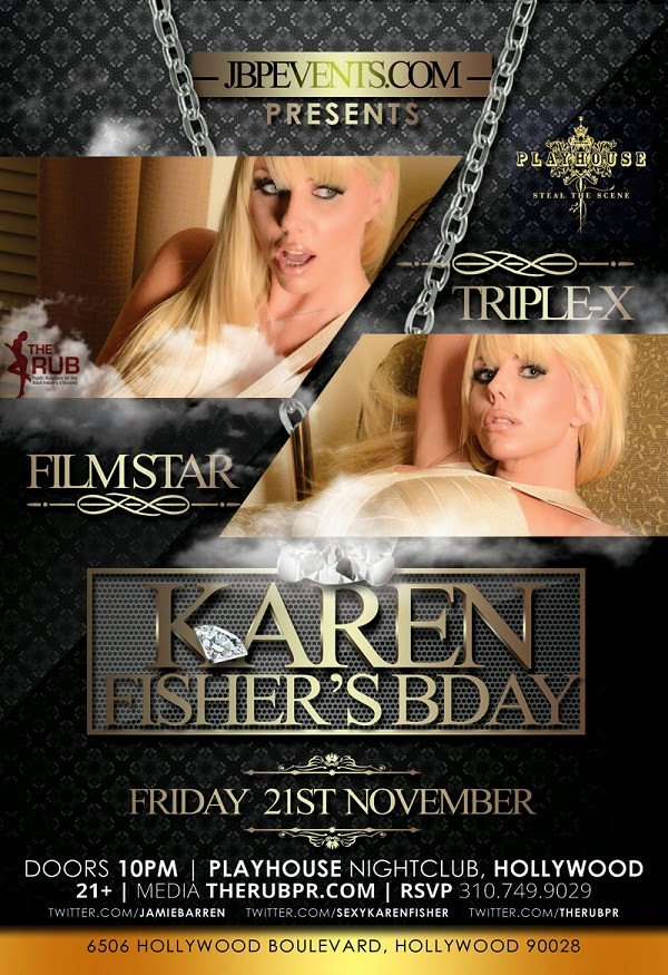 """Karen Fisher Adult Star Birthday at Playhouse"""