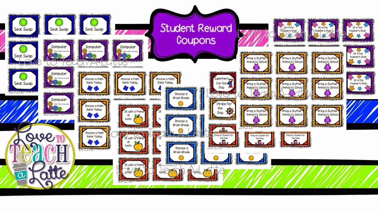 Classroom Reward Ideas That Don T Cost Money ~ Love to teach a latte behavior management using money