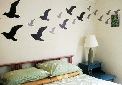 Decoraci n de interiores decora tus paredes con st ncil - Frases para paredes habitaciones ...