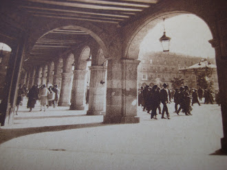 Los arcos de la Plaza Mayor