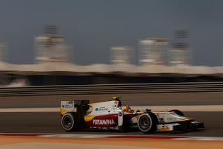 Kembali Tampil di Bahrain, Rio Haryanto Start dari Posisi ke-11 di Feature Race