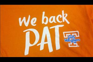 We Back Pat -- The Pat Summitt Alzheimer's T-Shirt