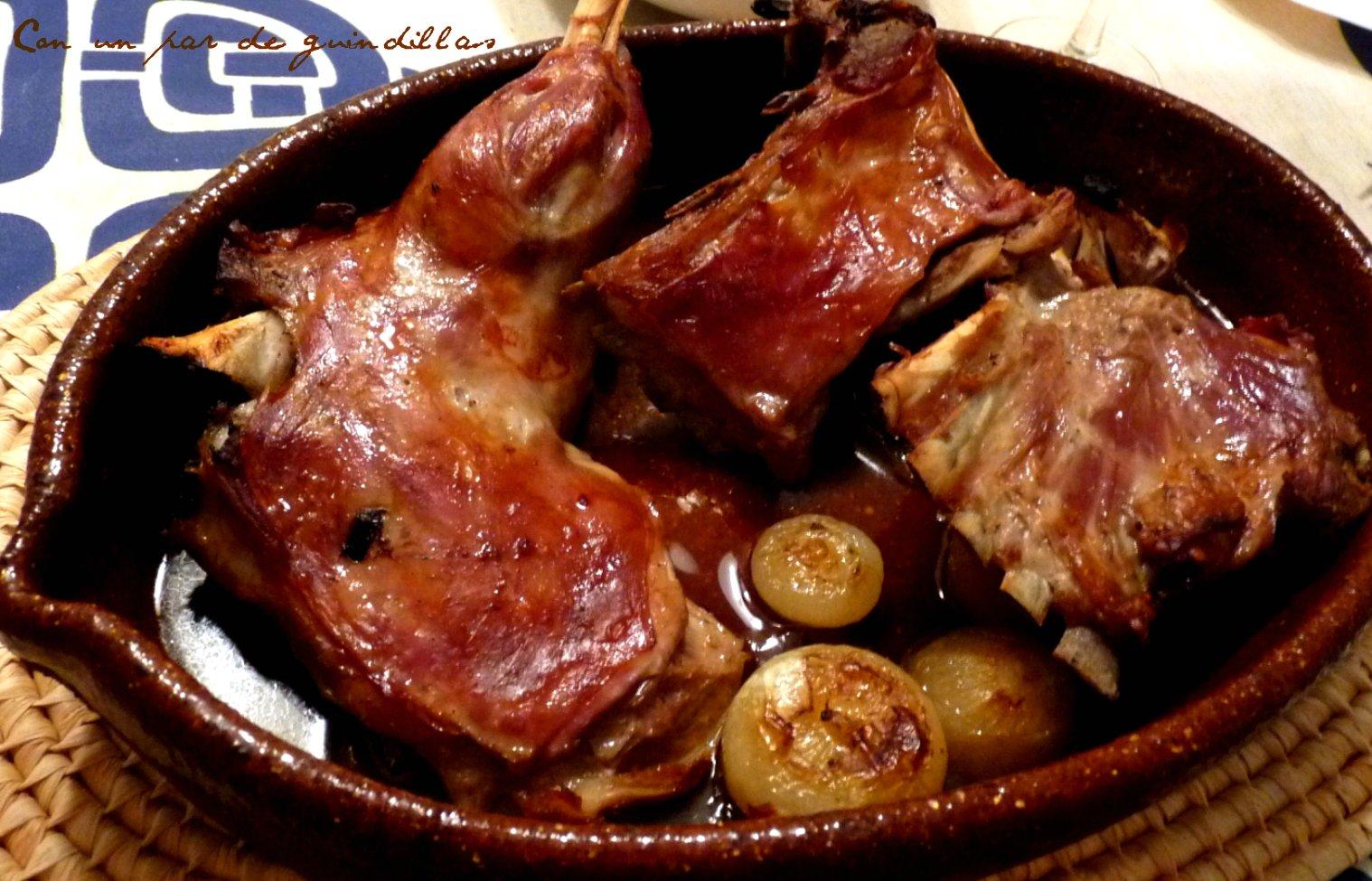Vuestras cocinas: Cordero asado (Gely) | Con un par de ...