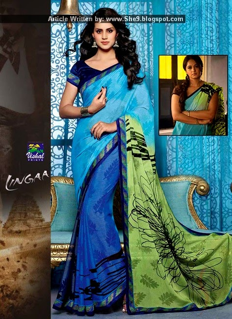 Lingaa by Vishal Prints Silk Sarees