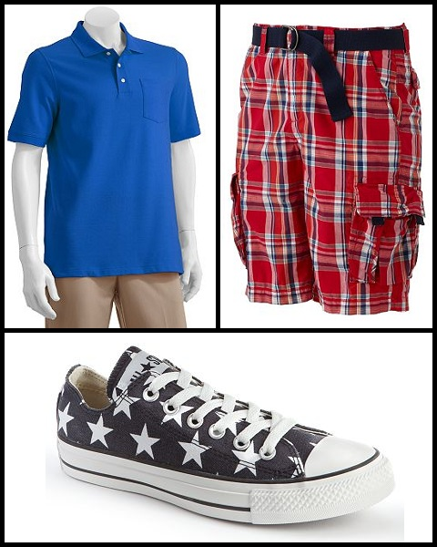 kohl's mens clothing