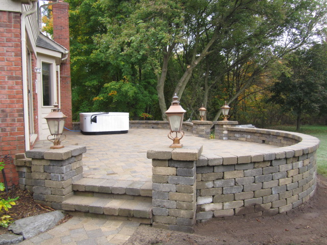 Perfect We Were Hired To Reconstruct This Raised Paver Patio To Its Original Beauty  U0026 Function. The Homeowneru0027s Budget Did Not Allow For Replacing The Current  ...