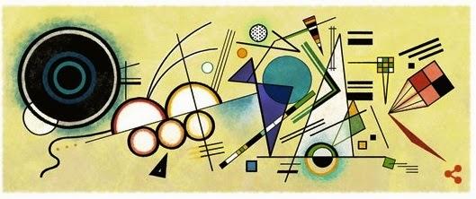 Un doodle-dipinto astratto per Kandinskij | Semplicemente io...