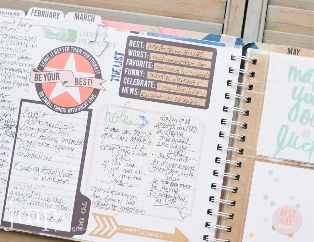 memory planner ~ jamie pate