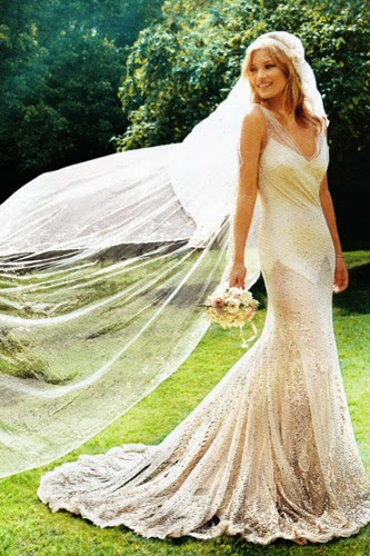 Kate Moss Wedding Dress - Affordable Wedding Dresses: Ethereal