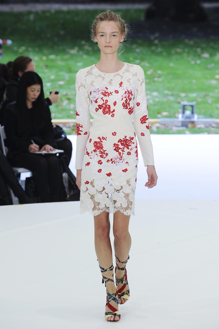 via fashioned by love | Erdem Spring/Summer 2011 | floral trend