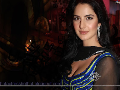 katrina kaif hot pics in a blue dress