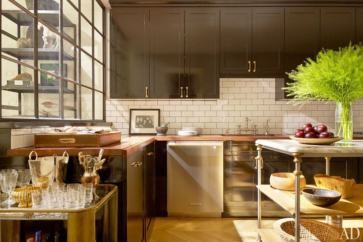 Home tour nate berkus 39 s sophisticated manhattan duplex Nate berkus kitchen design