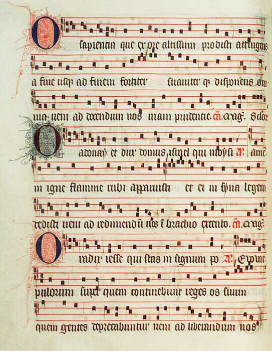 """The Great """"O"""" Antiphons"""