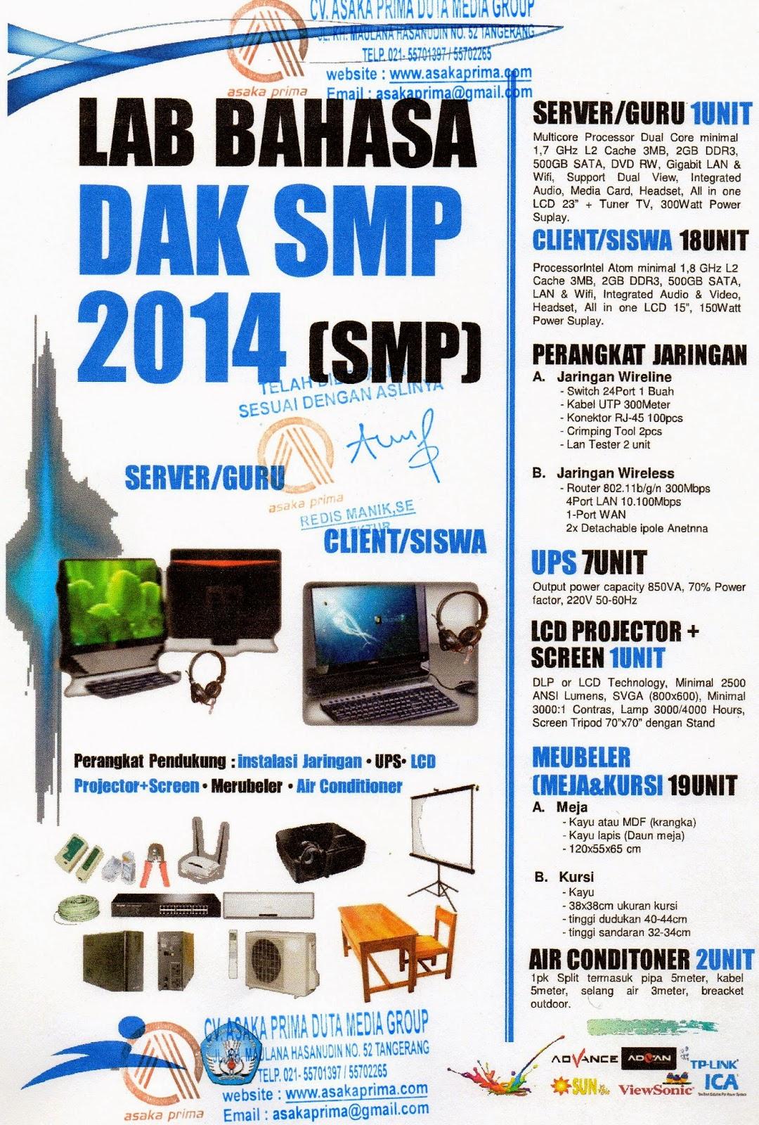 Spesifikasi Laboratorium Bahasa SMP 2014 ,LAB BAHASA SMP 2015,SPESIFIKASI LABORATORIUM BAHASA SMP,DAK SMP 2015,PRODUK LAB BAHASA SMP,DAK SMP 2015Produk DAK SMP 2015