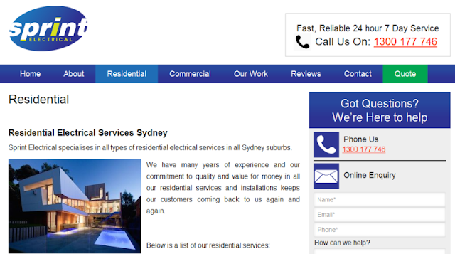leading licensed electricians in Sydney