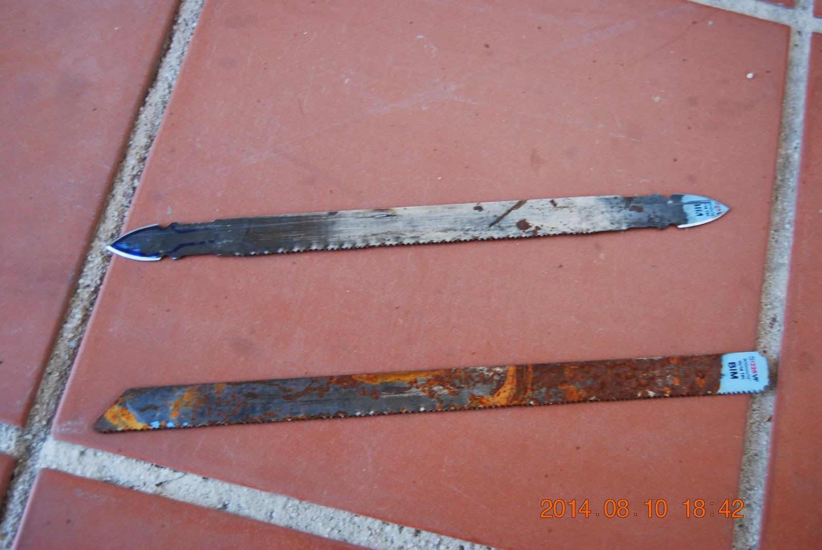 Manoloasecas punta de flecha con hoja de sierra - Hojas de sierra ...