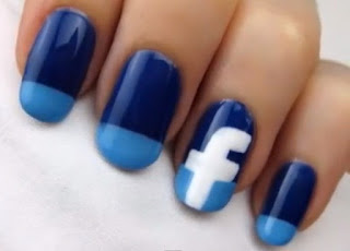 unas Facebook nails