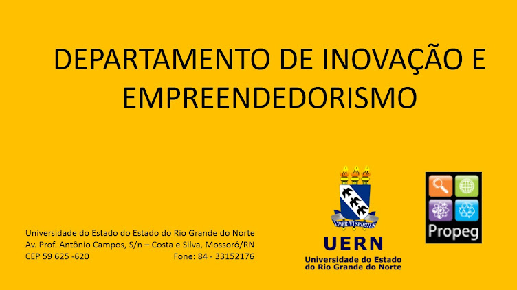 Departamento de Inovação e Empreendedorismo - UERN