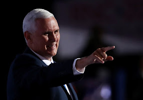 RNC CONVENTION DAY 3, PENCE EARNS HIS PIPS.