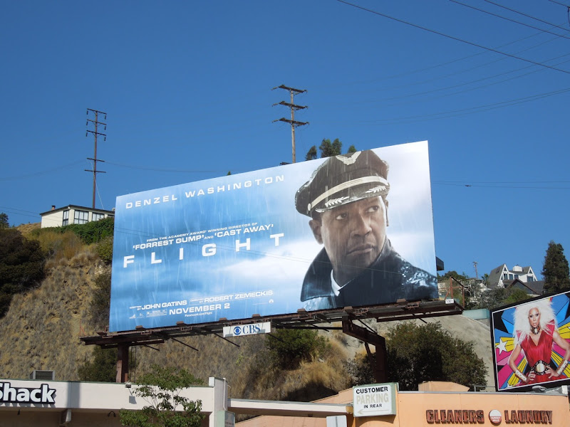 Flight film billboard