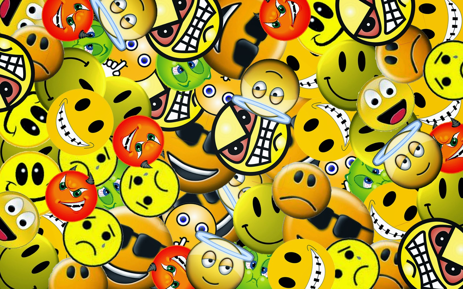 Smiley face background hd wallpaper for mobile facebook free download one sad smiley face between many happy smileys altavistaventures Images