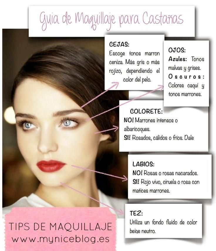 Maquillaje para castañas