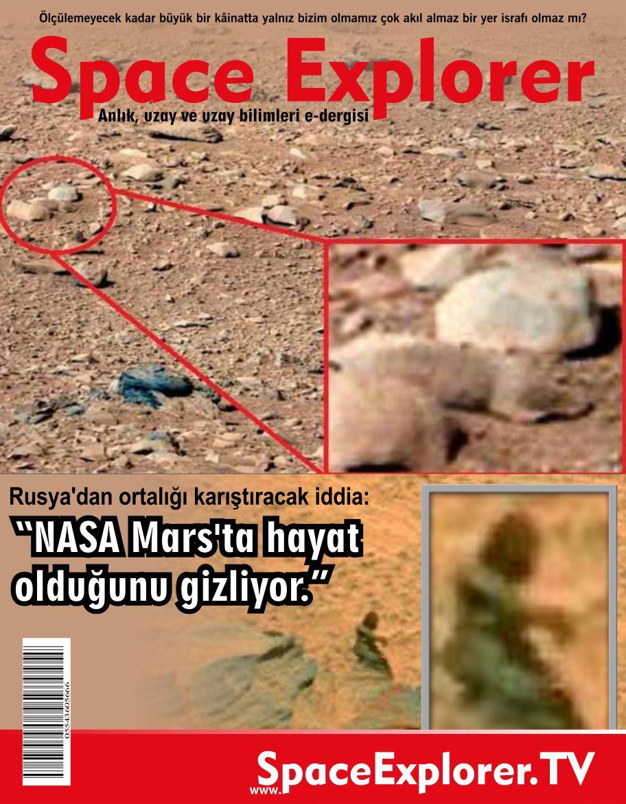 Rusya'dan ortalığı karıştıracak iddia: NASA Mars'ta hayat olduğunu gizliyor.