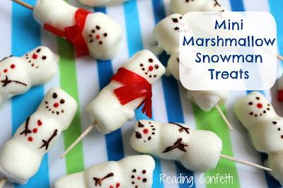 http://www.readingconfetti.com/2012/12/mini-marshmallow-snowman-treats.html