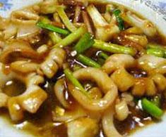 Resep masakan indonesia seafood cumi saus tiram spesial (istimewa) praktis mudah sedap, nikmat, enak, gurih lezat