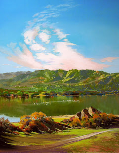 """Crystal Springs Morning"""