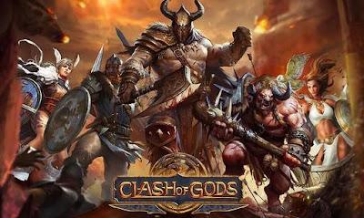 Clash Of Gods v1.0.4 APK OBB Data Torrent Gratis