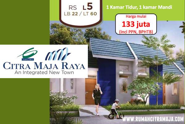 Rumah Citra Maja Tipe RS L5