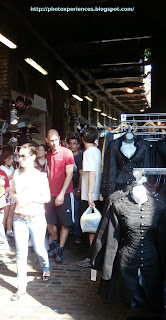 Horse Tunnel Market in Camden Town. El mercado del túnel de los caballos en Camden Town.