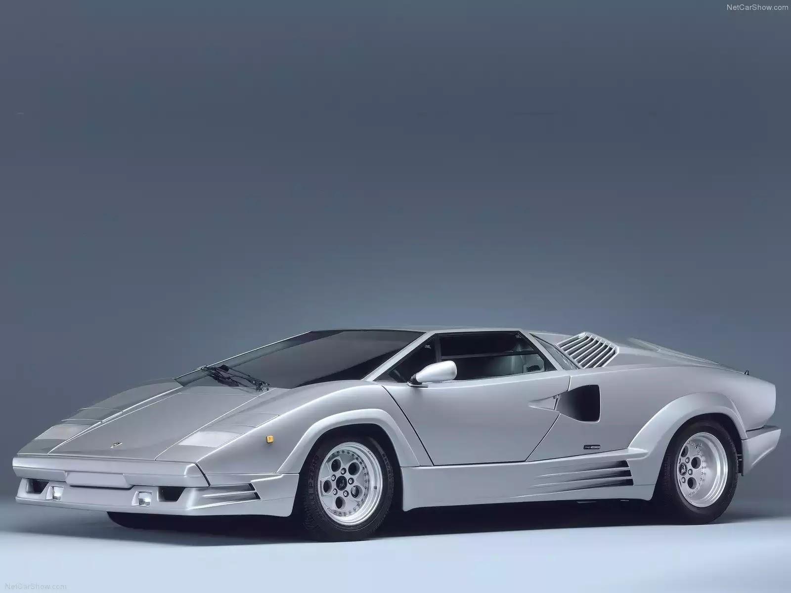 Hình ảnh siêu xe Lamborghini Countach 25th Anniversary 1989 & nội ngoại thất