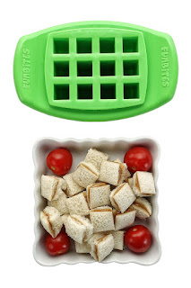 Image: FunBites Shaped Food Cutter, Green Square