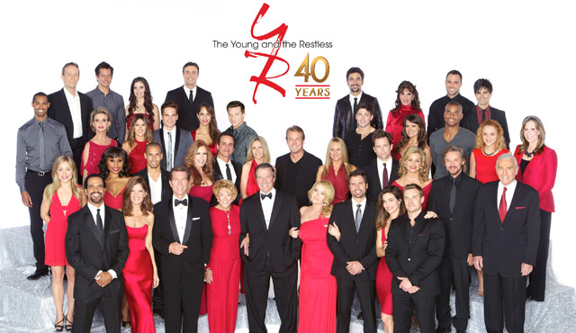 Young and the Restless Cast 2014