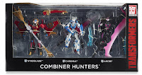 Transformers Combiner Hunters box set SDCC exclusive official packaging image 00